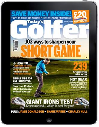 Today's Golfer iPad edition