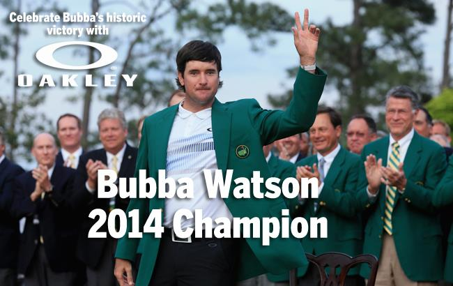 Bubba wins The Masters 2014