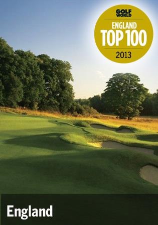Top 100 courses in England