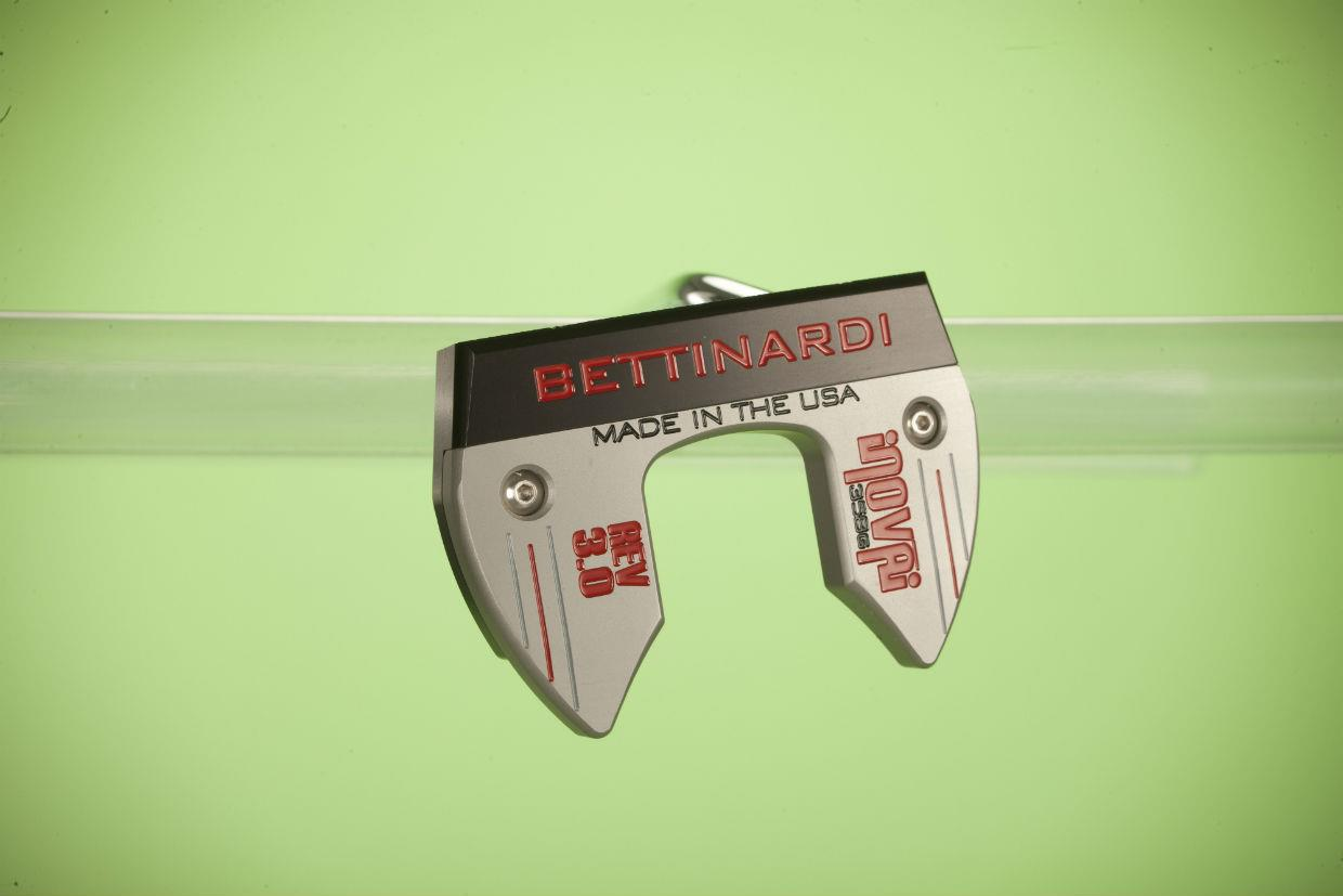 Bettinardi Inovai 3.0 putter toe hang