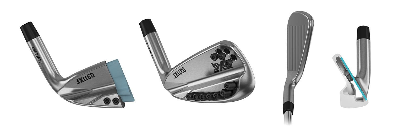 PXG target forgiveness with new 0311 XF irons