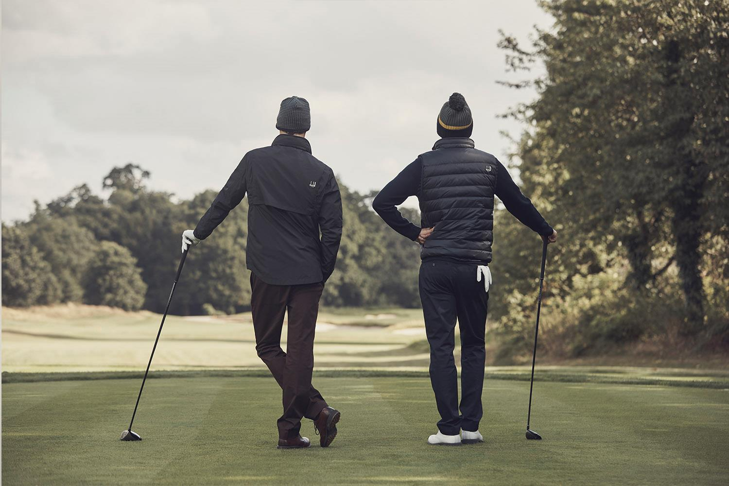 dunhill LINKS unveils autumn and winter apparel range