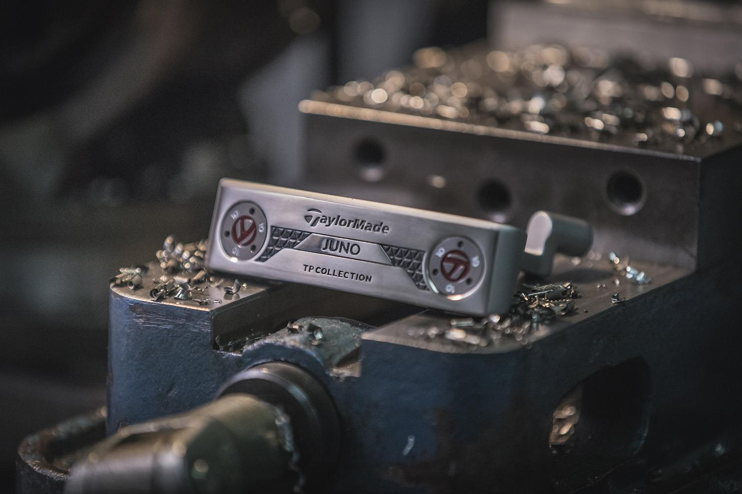 Juno and Soto are classically designed blade putters with heel-toe weighting for optimized balance, control and feel.