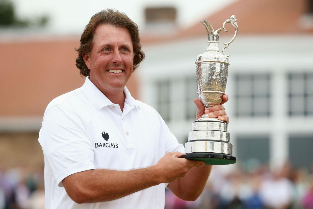 Phil Mickelson won the Open in 2013, when it was last held at Muirfield