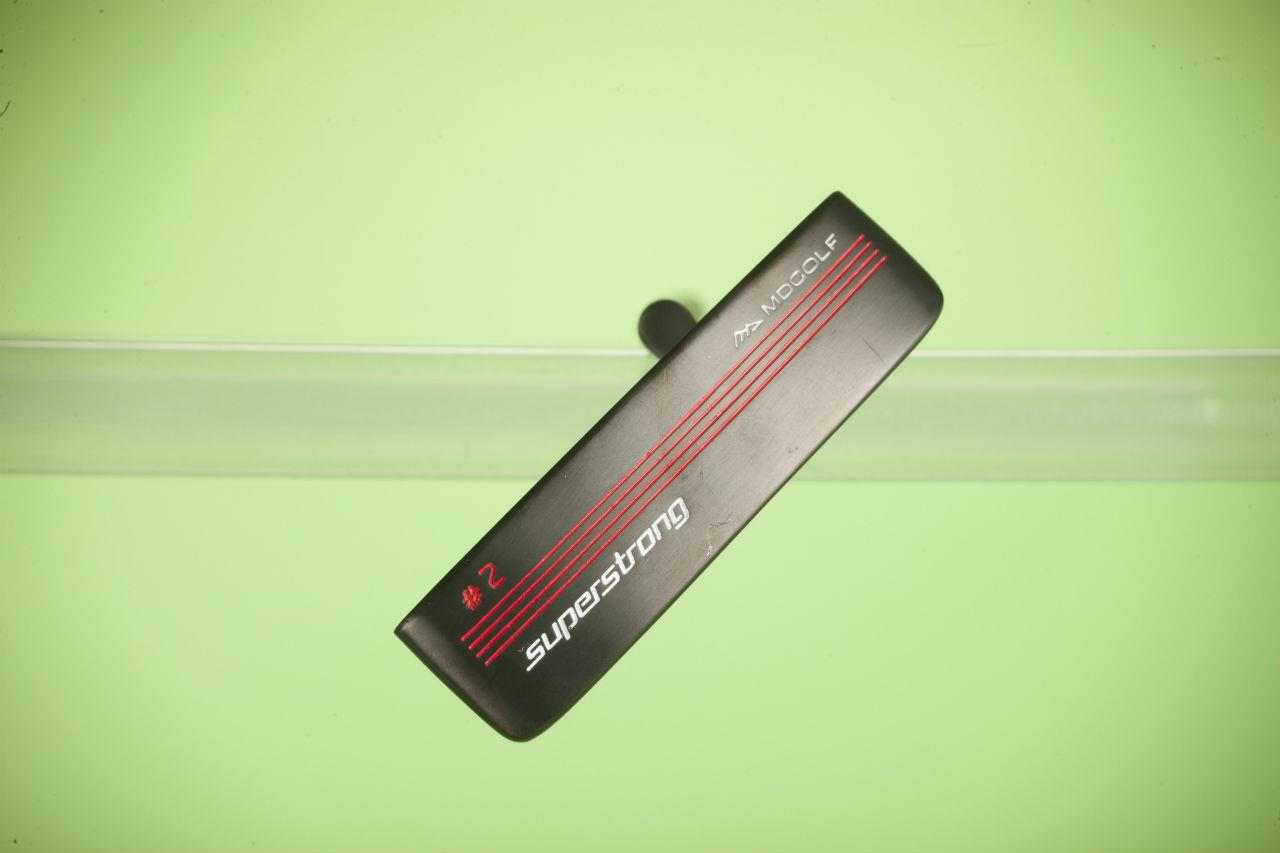 MD Golf SuperStrong 2 putter toe hang