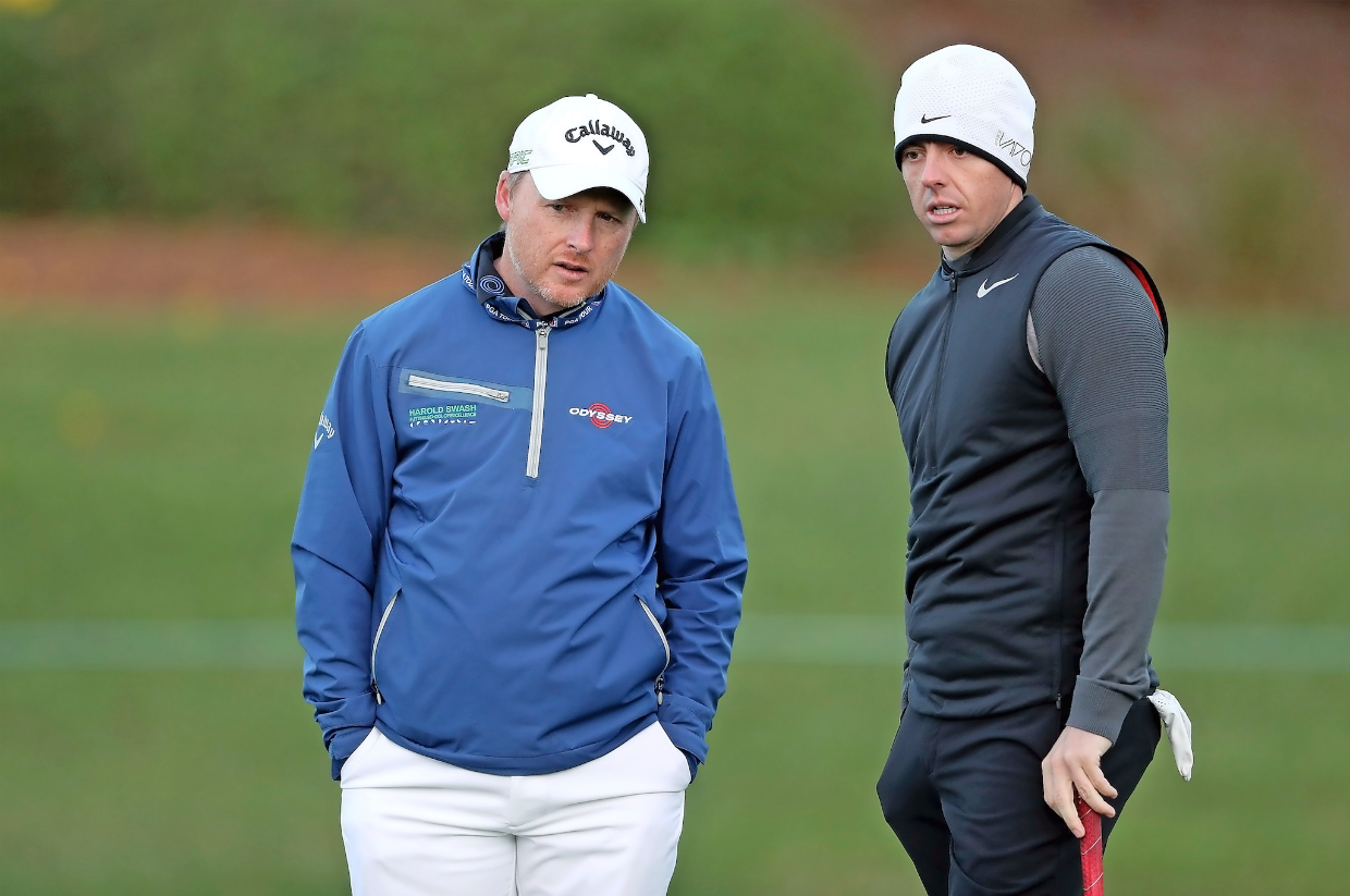 Rory Mcilroy and Phil Kenyon