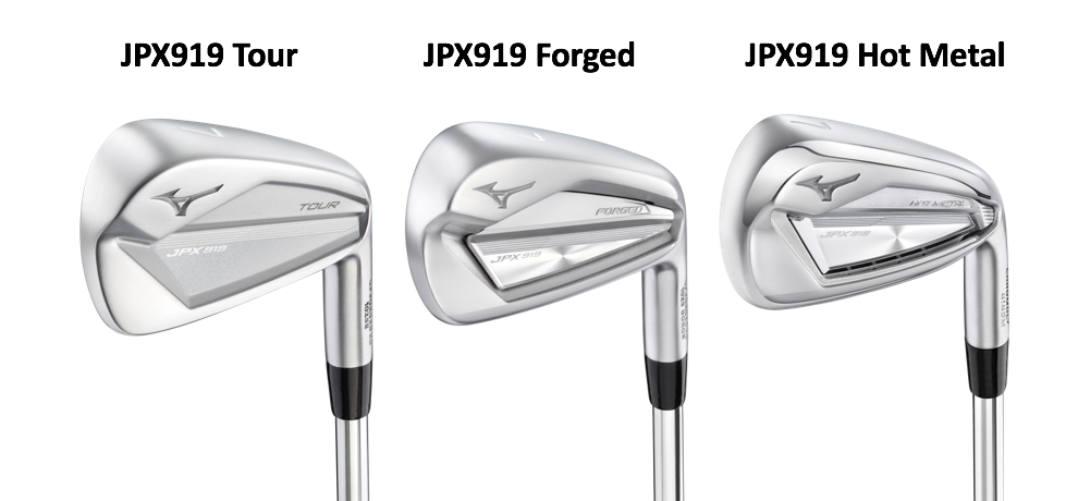 Mizuno JPX919 iron family