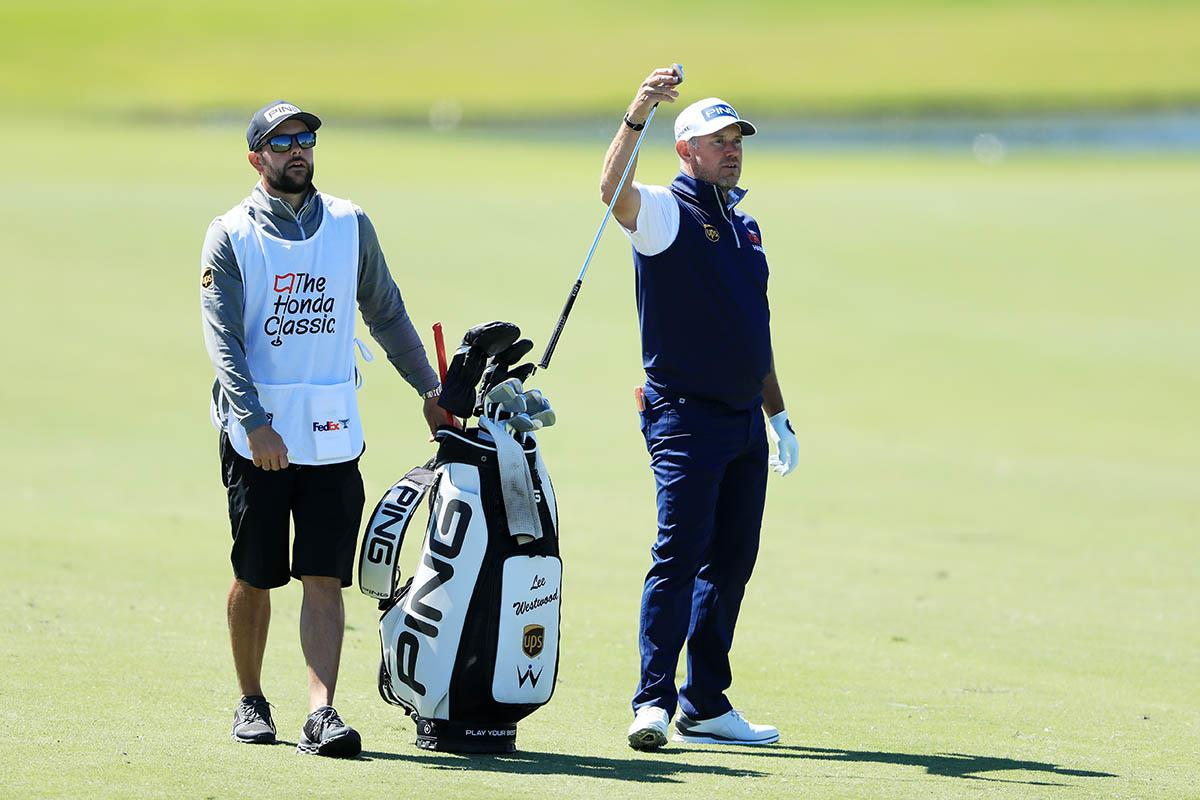 Lee Westwood knows his yardages for every club and swing.
