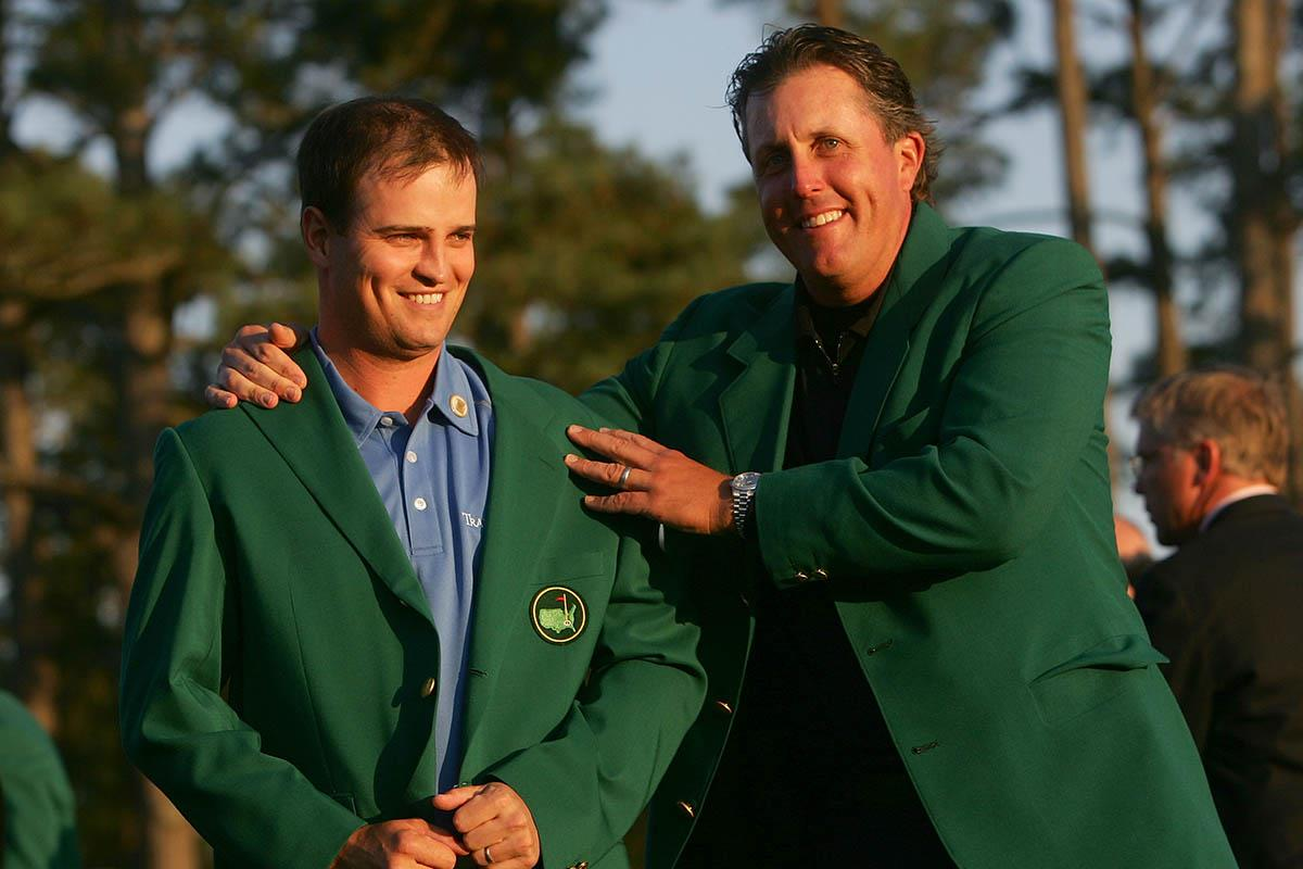 Masters winner Zach Johnson and Phil Mickelson can both play in the tournament for as many years as physically possible.