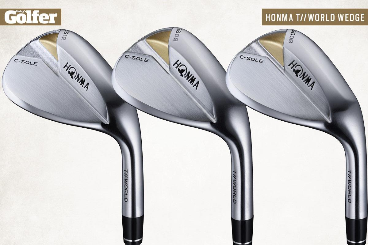 Honma T//World C-Sole golf wedges for 2021.