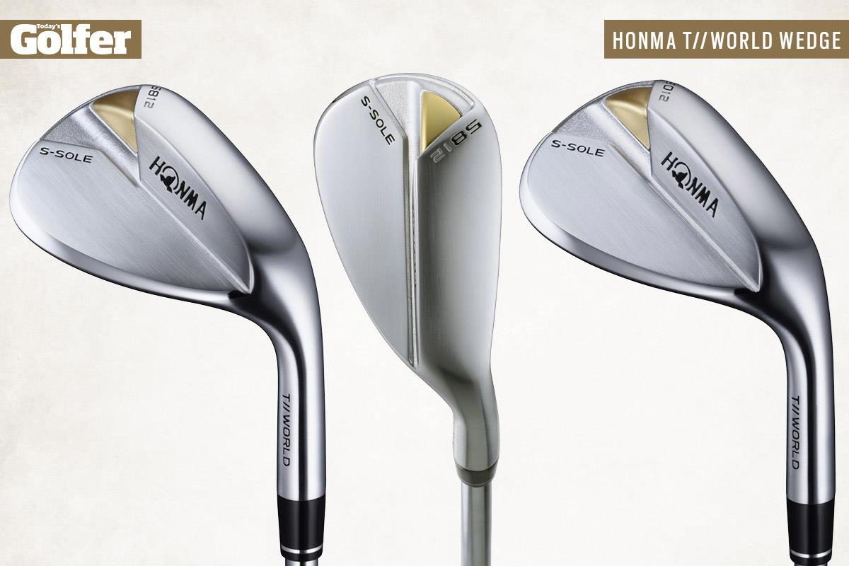 Honma T//World S-Sole golf wedges for 2021.