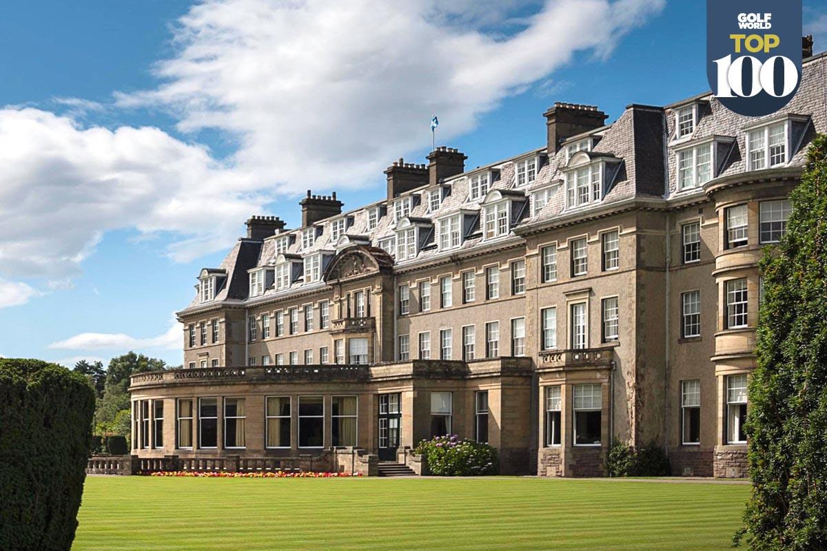 Gleneagles is the best golf resort in the UK and Ireland.