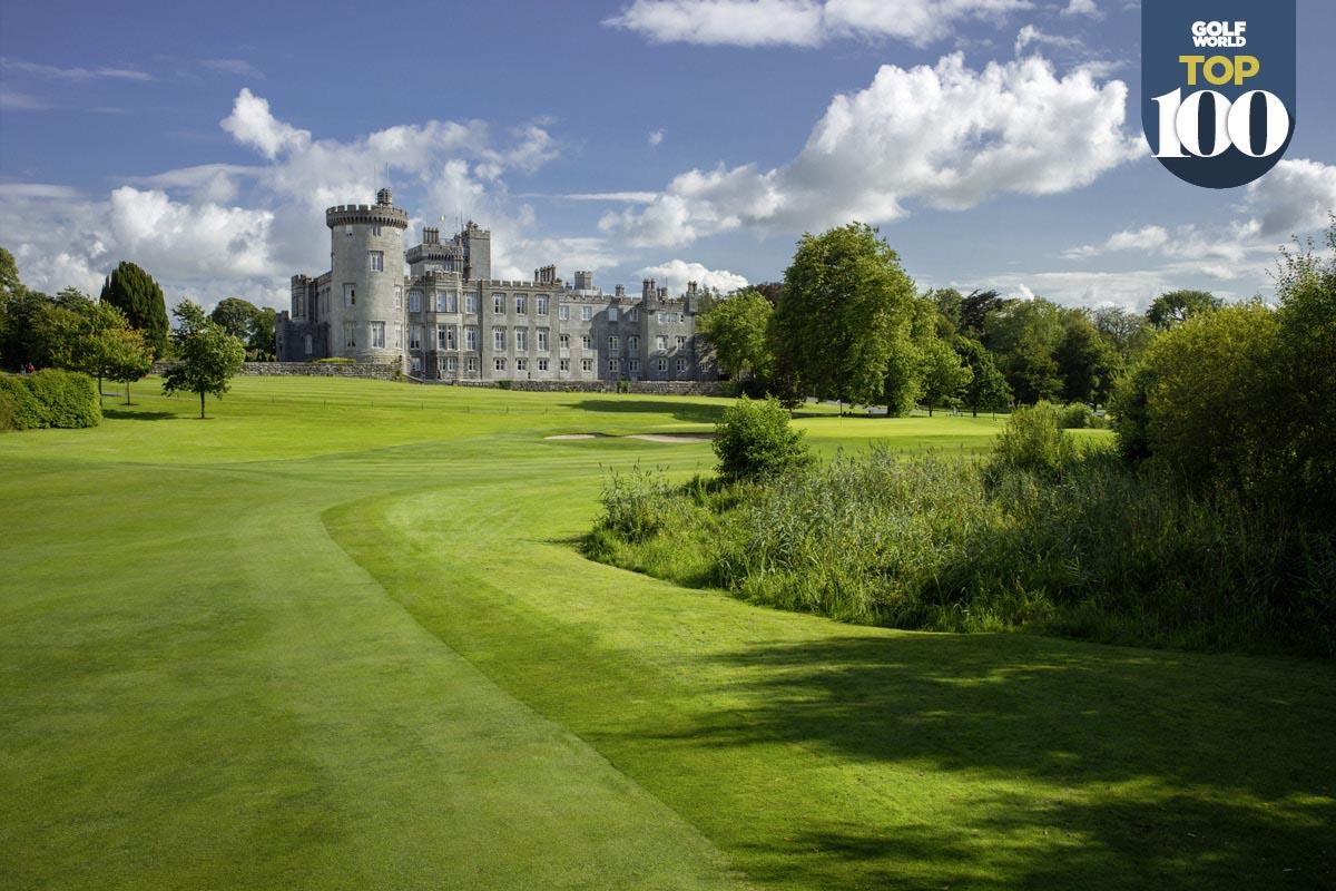 Dromoland Castle is one of the best golf resorts in Great Britain and Ireland.