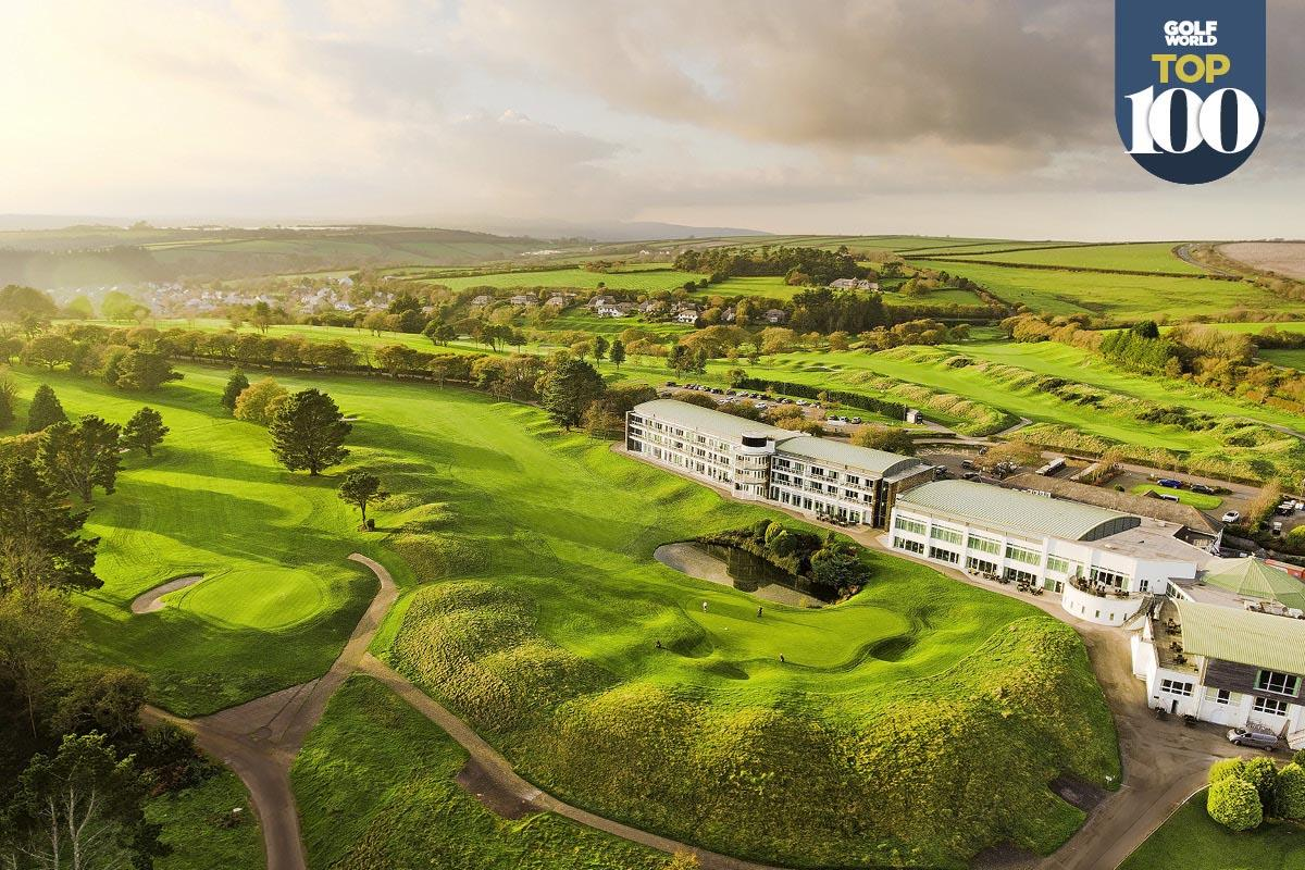 St Mellion is one of the best golf resorts in Great Britain and Ireland.