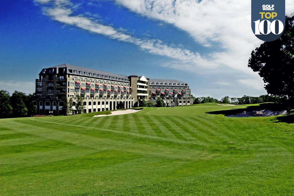 Celtic Manor is one of Great Britain and Ireland's best golf resorts.