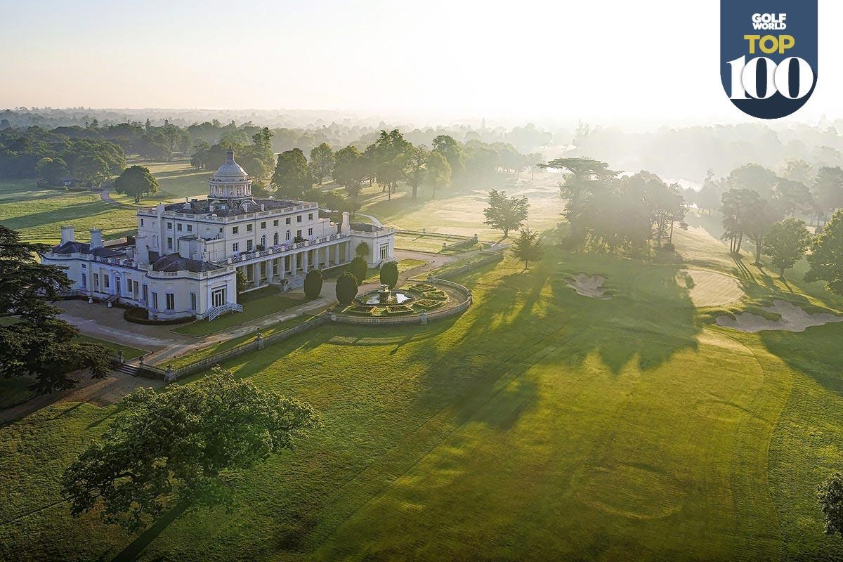 Stoke Park is one of the best golf resorts in Great Britain and Ireland.