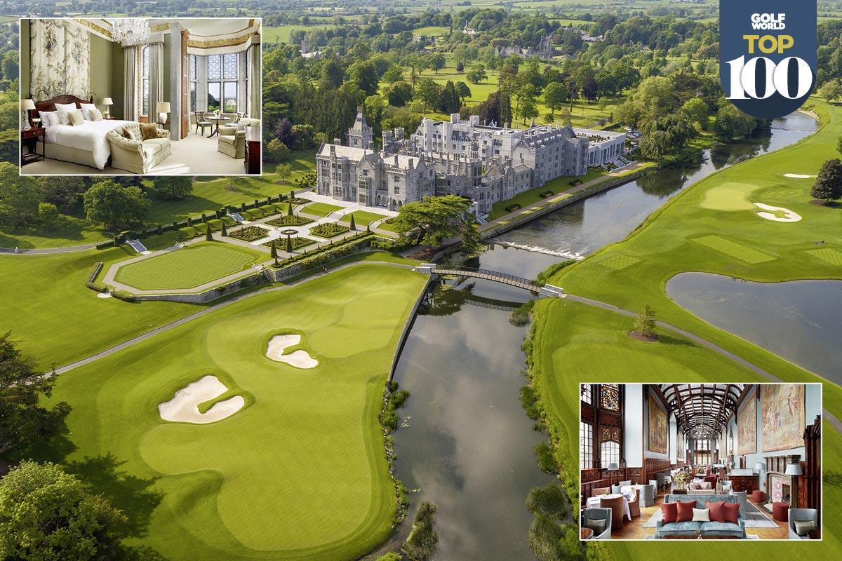 Adare Manor is one of the best golf resorts in Great Britain and Ireland.