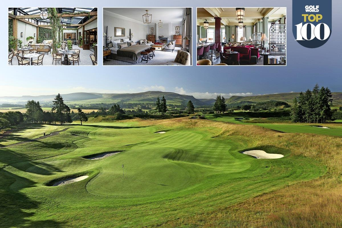 Gleneagles is the best golf resort in Great Britain and Ireland.