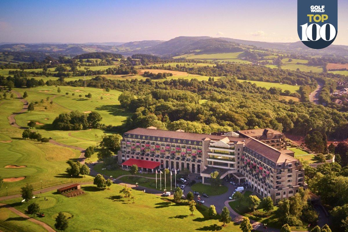 Celtic Manor is one of the best golf resorts in Britain and Ireland.