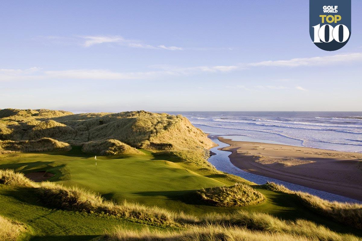 Trump International Golf Links Scotland is one of the best golf resorts in Great Britain and Ireland.