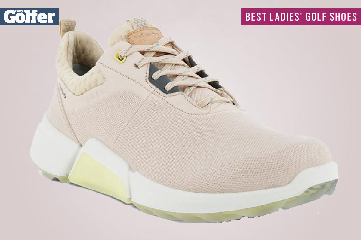 Ecco Biom H4 are among the best women's golf shoes.