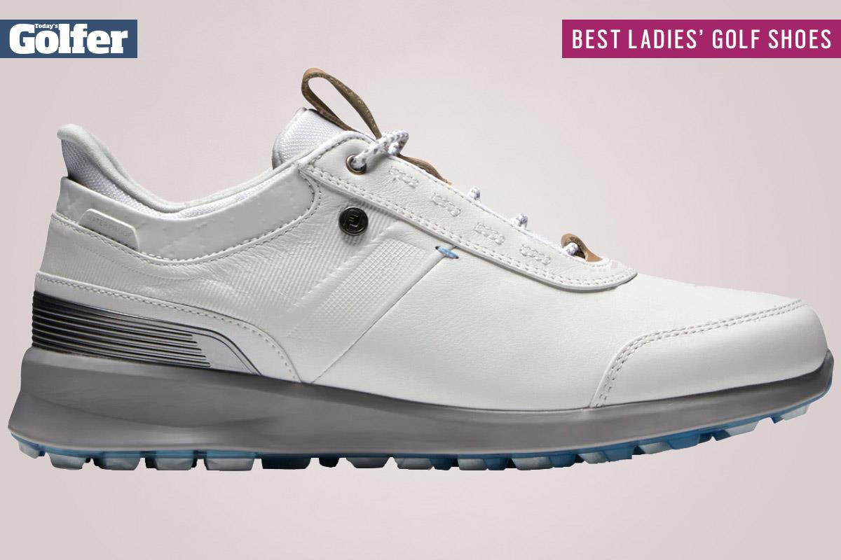FootJoy Stratos are among the best women's golf shoes.