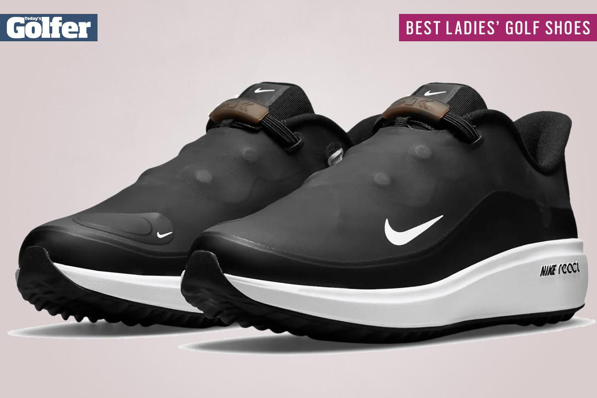 Nike React Ace Tour are among the best women's golf shoes.