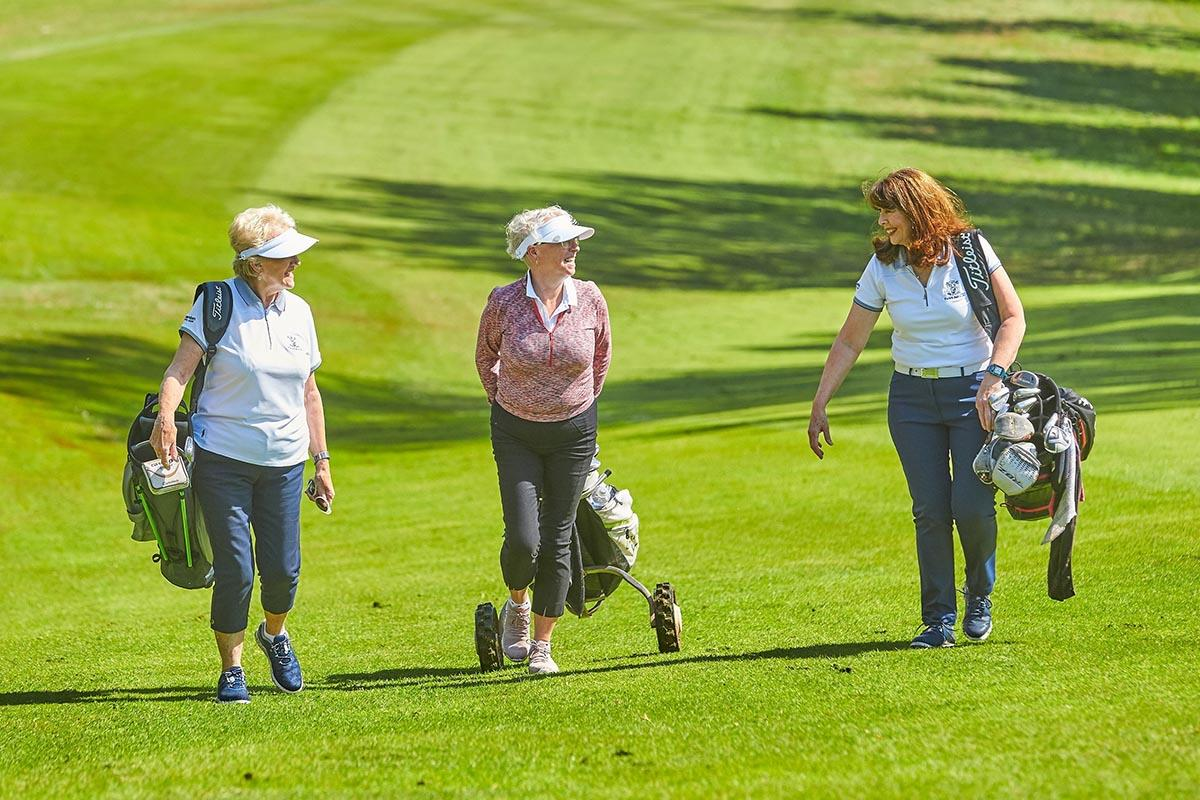 The R&A's #FOREEVERYONE campaign aims to get more women and girls playing golf.