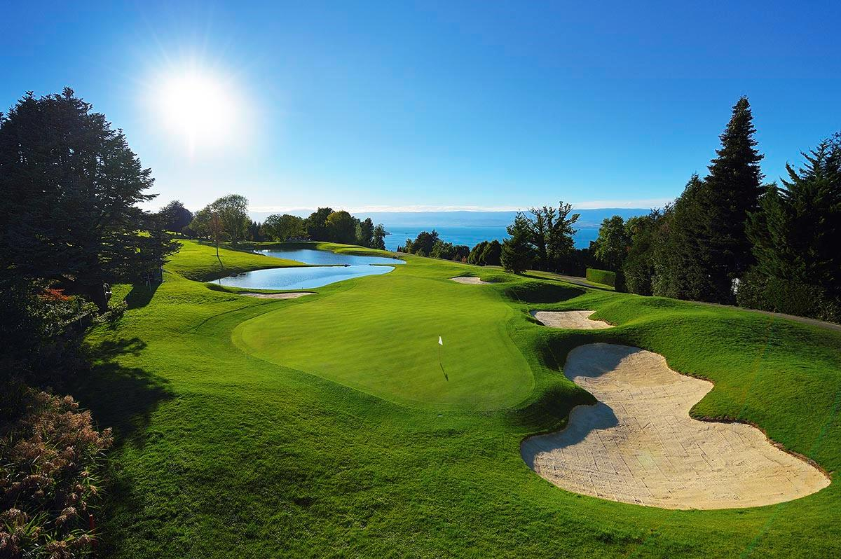 The stunning course at Evian.