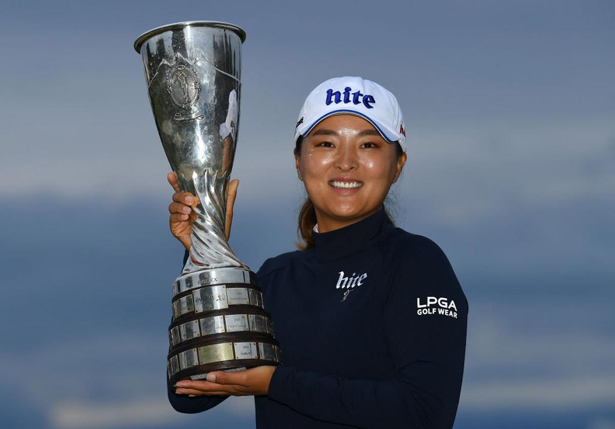 Jin Young Ko will defend her 2019 title.