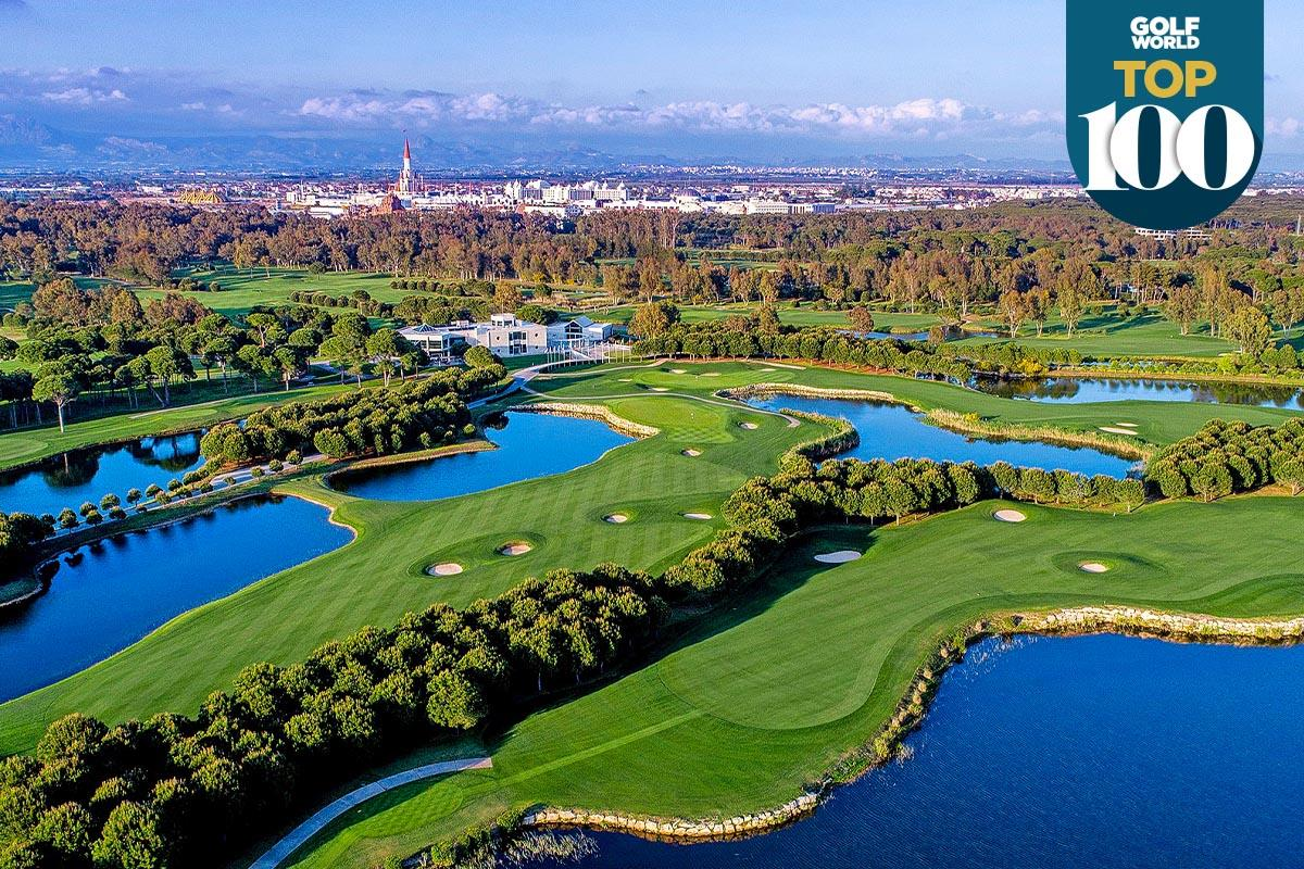 Antalya is one of the best golf resorts in continental Europe.