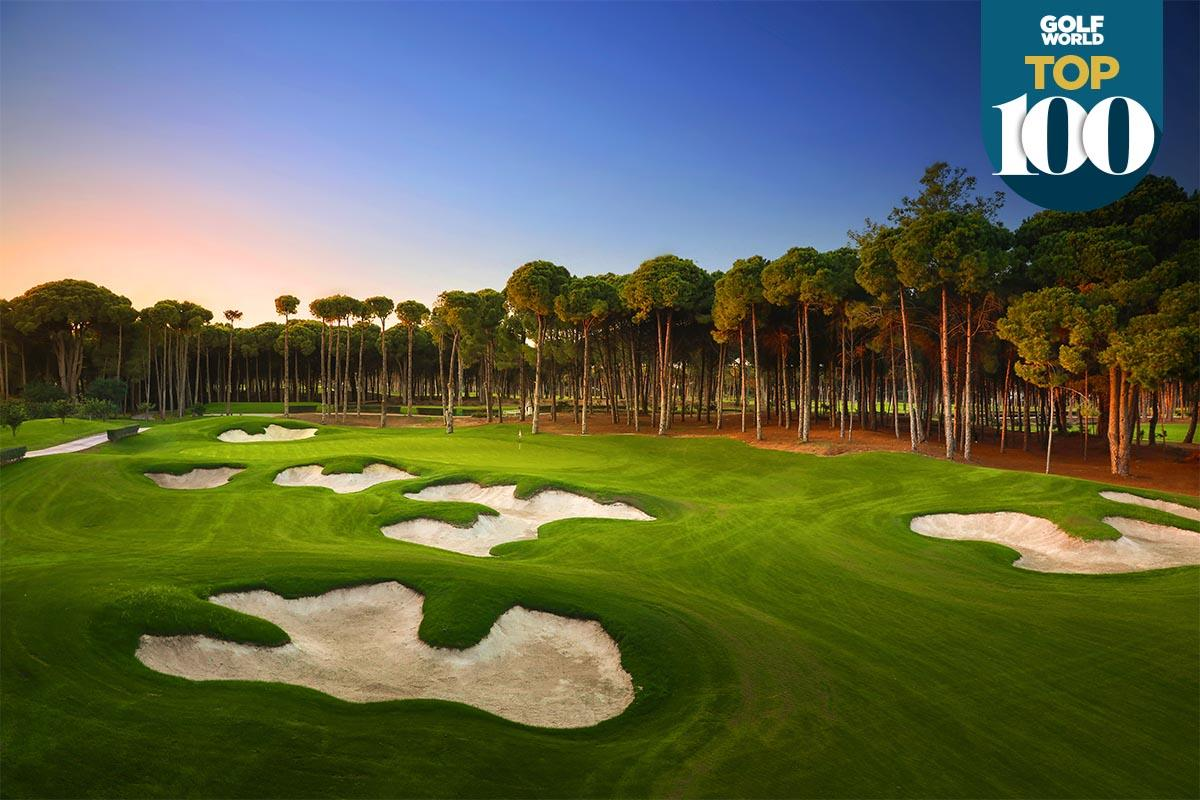 Carya is one of the best golf resorts in continental Europe.