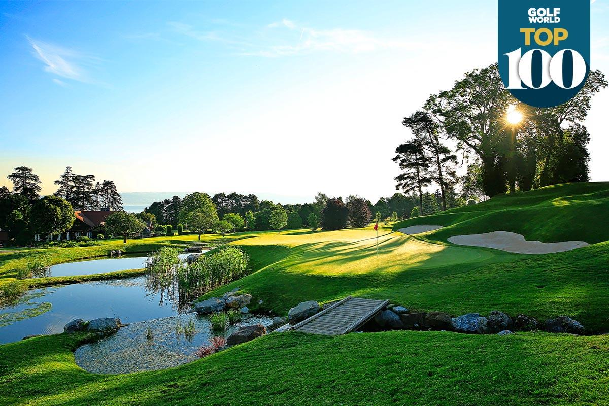 Evian is one of the best golf resorts in continental Europe.