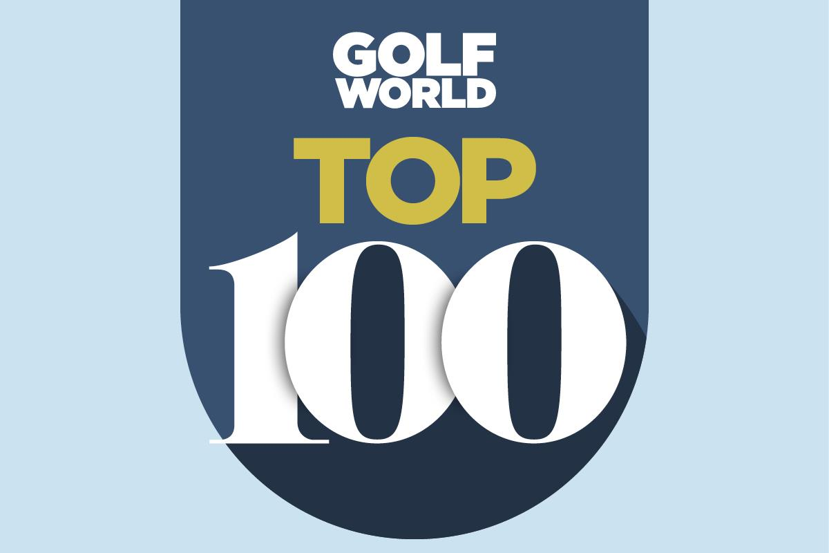 Golf World Top 100 Courses and Resorts rankings.