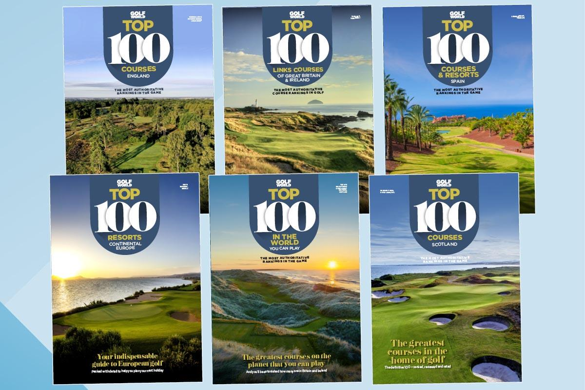 Golf World Top 100 features the world's best golf courses.