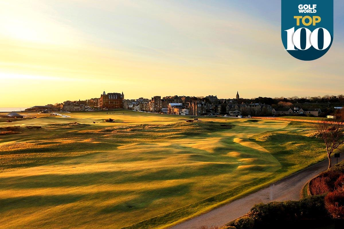 The world-famous Old Course at St Andrews is among the best golf courses in the world.